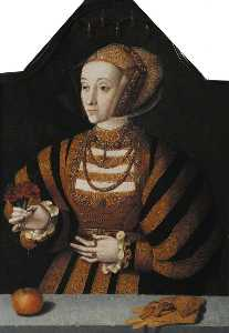 Bartholomaeus Bruyn The Elder - Anne di Cleves