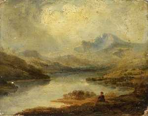 William Millington - Lago Windermere , Cumbria
