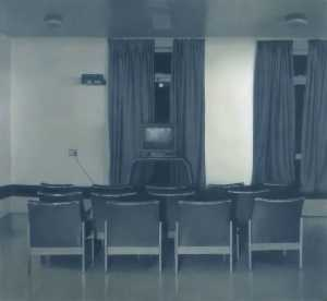 Ordinare Copia Pittura : sala tv v, 1997 di Paul Winstanley | WahooArt.com