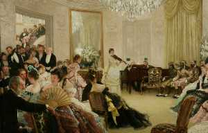 Jacques Joseph (James ) Tissot - Silenzio