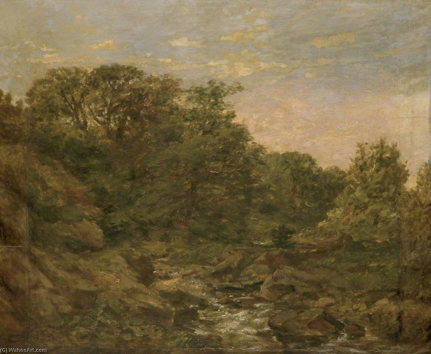 vicino a bettws y coed di David Cox The Elder | Riproduzioni Di Belle Arti David Cox The Elder | WahooArt.com