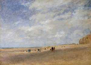 David Cox The Elder - Rhyl Sabbie